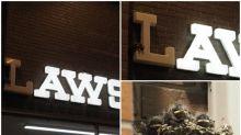 日本Lawson好有愛 「L」字熄咗原來有燕子築巢