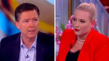 Watch Meghan McCain take down James Comey on 'The View': 'You sound like a political commentator'