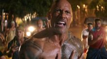 The Rock celebrates wrapping 'Jumanji 3' and 'Hobbs & Shaw' in the same week