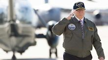 A year after election, Trump pledge to 'rebuild our military' off to slow start, mixed results