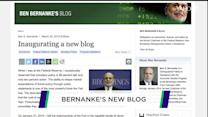 Ben Bernanke launches blog