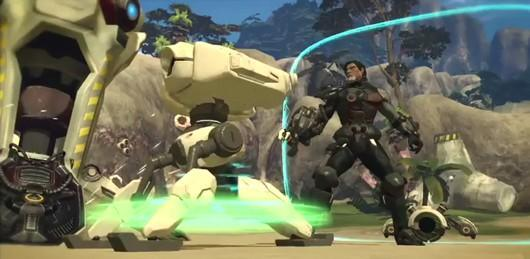 Firefall blows up bugs in the new gameplay trailer