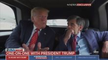 Trump to Stephanopoulos: 'I Like the Truth,' I Didn't Sit for Mueller Interview Because He'd 'Get Us for Lies'