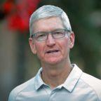 Apple's Cook meets China regulator after pulling Hong Kong app