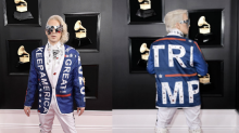 Ricky Rebel wears 'Keep America Great' jacket to 2019 Grammys: 'I'm not sorry for anything'
