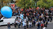 Una masiva huelga generó caos en París
