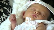 Chicago baby born in a parking lot - just like dad