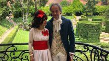 Eugenia Martínez de Irujo y su marido se disfrazan de la duquesa de Alba y Goya