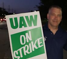 I've worked for General Motors for 25 years. I'm on strike because we're done sacrificing.