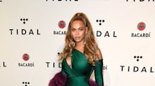 Beyoncé makes first post-pregnancy red carpet appearance at TIDAL concert