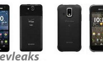 Kyocera Elite for Verizon and XTRM for US Cellular both leaked