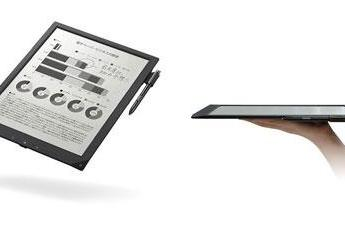 Sony's A4-sized digital paper slab gets a business-oriented price tag of 100,000 yen
