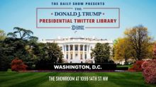 ***MEDIA ALERT*** EXCLUSIVE PRESS PREVIEW – The Daily Show with Trevor Noah Presents: The Donald J. Trump Presidential Twitter Library