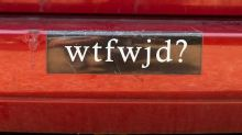 Female vicar causes controversy with obscene car sticker