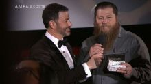 Jimmy Kimmel surprises cinema goers with Hollywood stars live during the Oscars