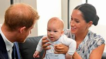 Baby Archie makes royal tour debut — and people think he looks just like Harry