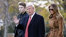 The Maryland county where Barron Trump attends school ordered private schools to stay closed until October, but the governor overrode the decision