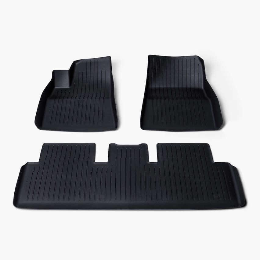 Tesla launches new set of all-weather floor mats for Model 3