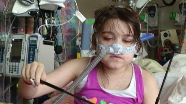 Sarah vs. system: Child fights red tape for lung transplant