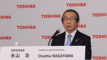 Toshiba chairman says he may leave once problems fixed - WSJ