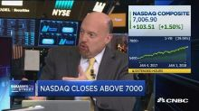 Profit-taking over in tech as Nasdaq hits record 7,000: J...