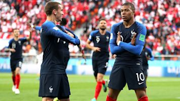 Mbappe's goal stands up as France beats Peru