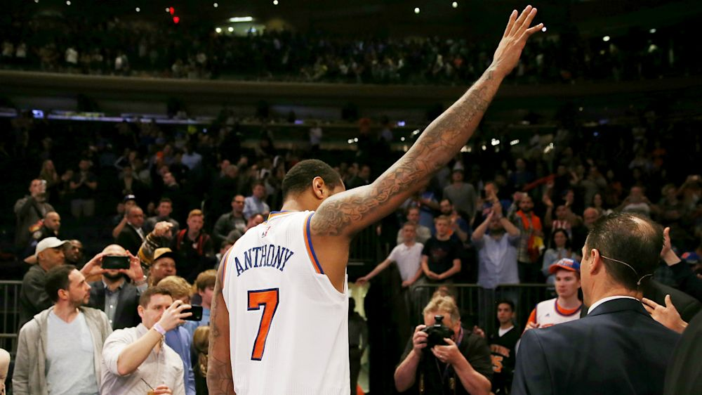 Knicks make Anthony trade to Thunder official