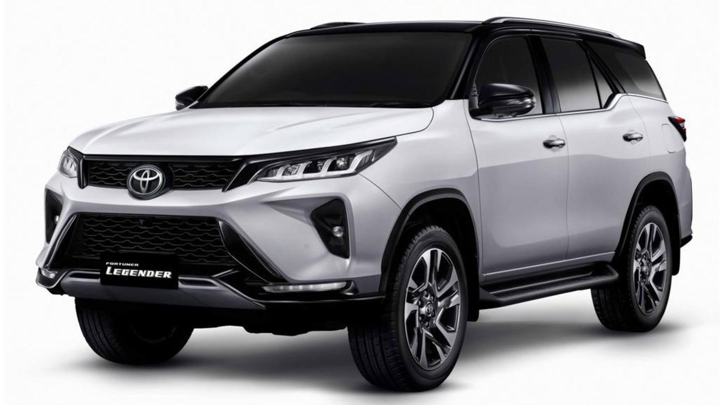 Toyota Fortuner Legender to be launched in India in early-2021