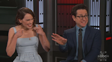 'Star Wars' star got the strangest wrap gift from J.J. Abrams: 'It's a touch obscure'