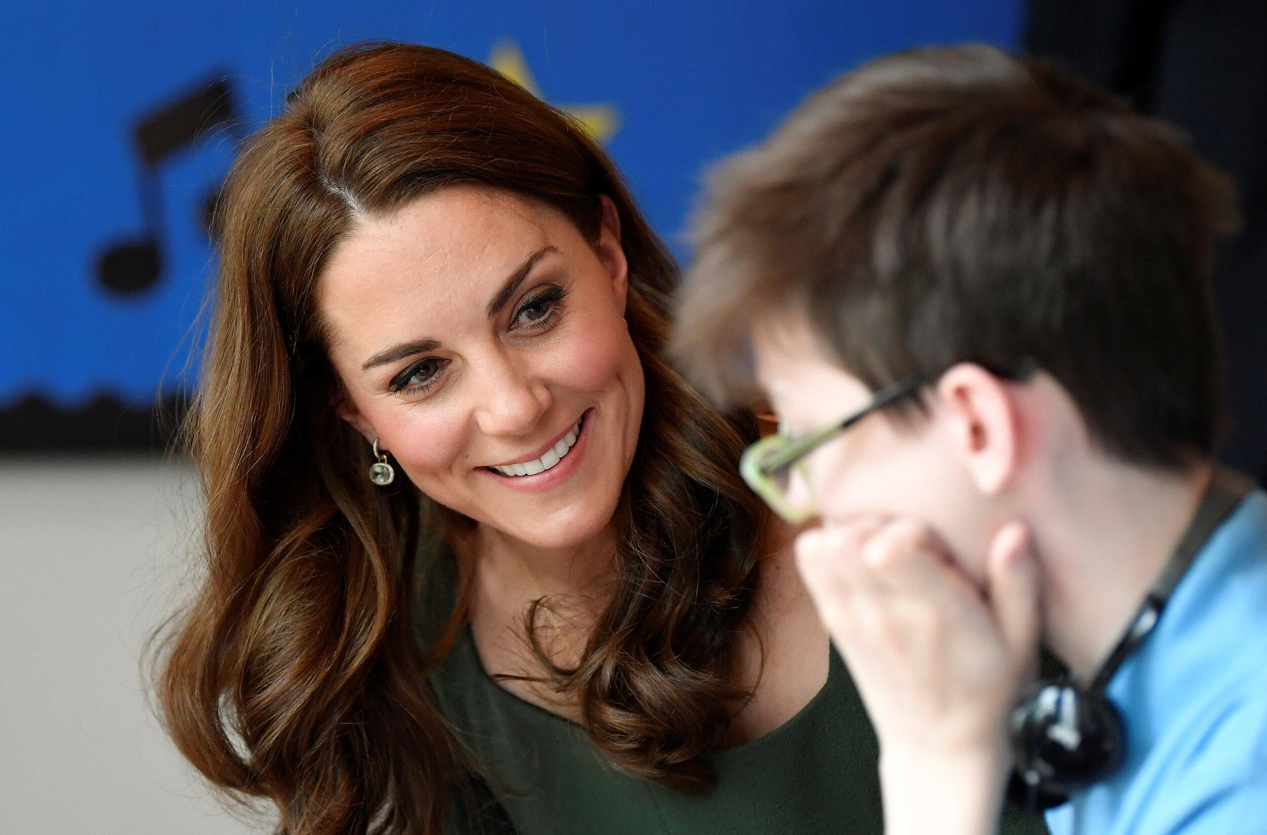 LONDON, ENGLAND - MAY 01:  Catherine, Duchess of Cambridge officially opens the new Centre of Excellence at the Anna Freud Centre on May 1, 2019 in London, England. The Duchess of Cambridge is Patron of the Anna Freud National Centre for Children and Families. (Photo by Toby Melville - WPA Pool/Getty Images)