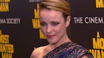 Rachel McAdams Remembers Philip Seymour Hoffman At 'A Most Wanted Man' Premiere