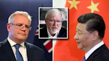 Kevin Rudd hits out at Morrison government's 'puzzling' China move