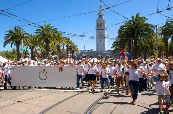 Apple shares video detailing participation in San Francisco Pride Parade
