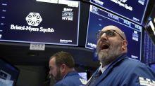 Bristol-Myers tumbles as its $74 billion merger with Celgene faces setback