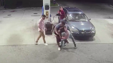 Spring breakers tackle armed robbers at Florida gas station: 'It was fight mode automatically'