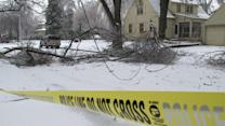 Severe storms hits Midwest with snow, ice, winds