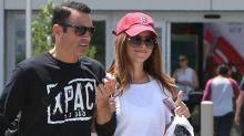 Maria Menounos va al centro comercial tras cirugía cerebral