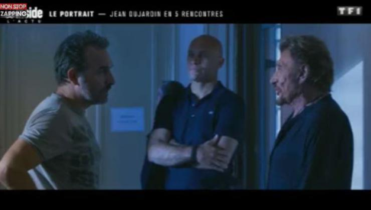 Johnny hallyday jean dujardin revient sur la derni re for Dujardin johnny