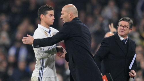 Real Madrid, Zidane pourrait laisser partir James