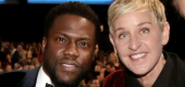 Yahoo Celebrity - Kevin Hart is showing his support for Ellen DeGeneres amid the scandal surrounding her daytime talk