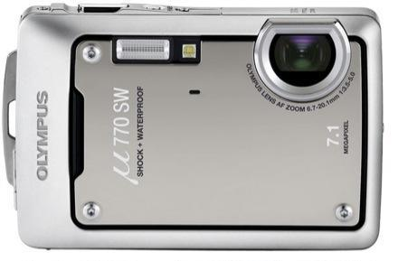 Olympus' Stylus (Mju) 760 and 770SW all weather and underwater shooters