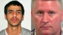 Pictured: Iraqi asylum seeker who 'broke Britain First leader Paul Golding's nose in prison'