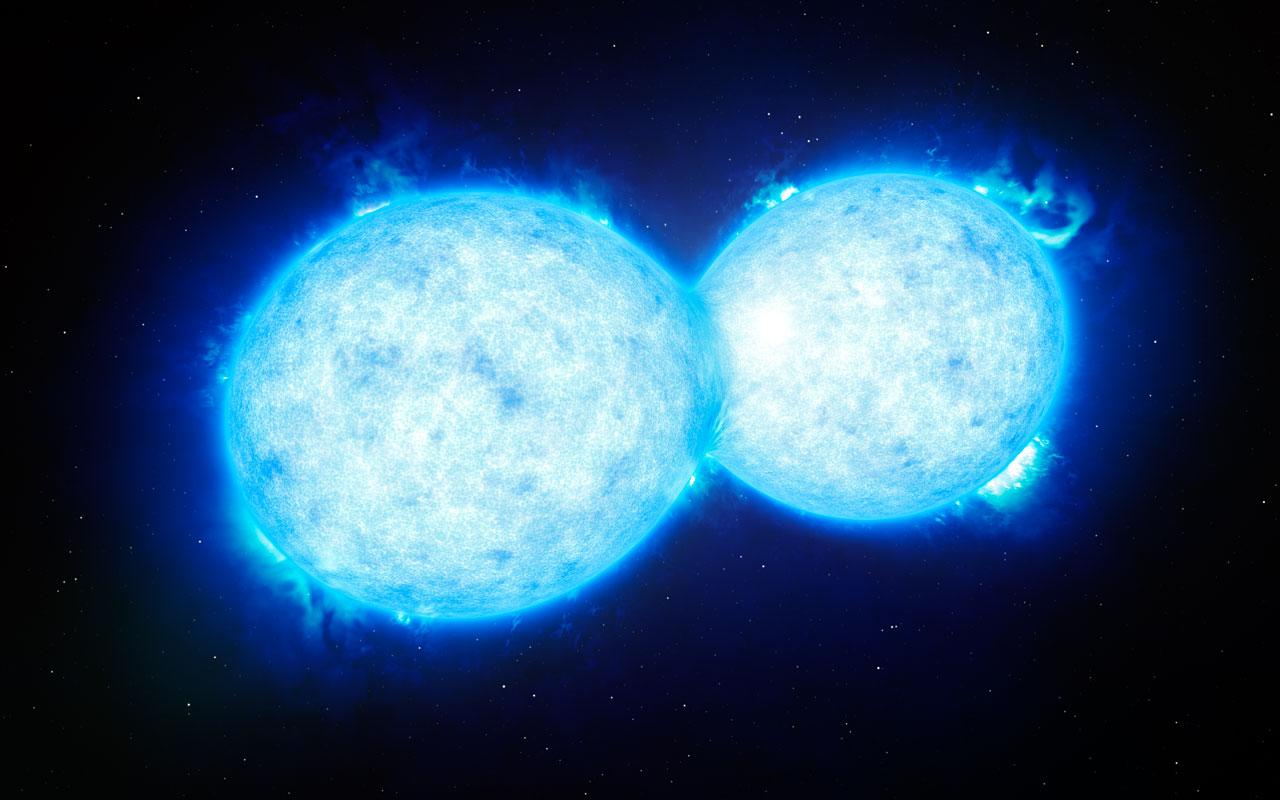 Binary Stars To Merge, Explode In 2022