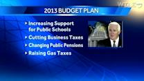 Gov. proposes raising gas tax revenues to ease transportation woes