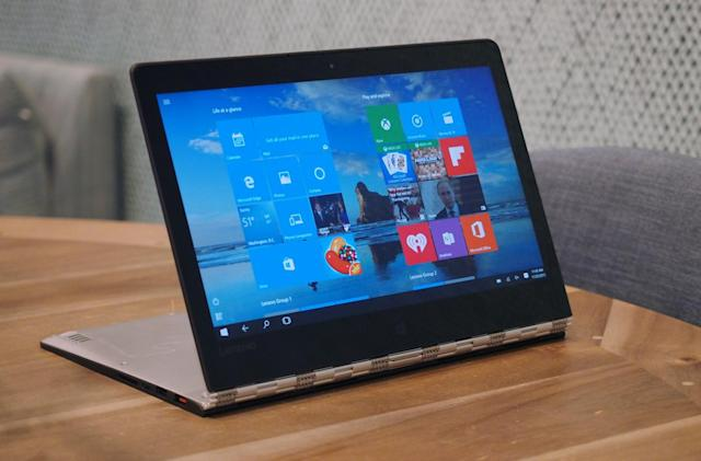Lenovo Yoga 900 review: Same thin design with fewer compromises