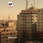 Israeli airstrike in Gaza destroys media building