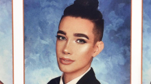 James Charles's Yearbook Photo Puts Your Highlighting Skills to Shame