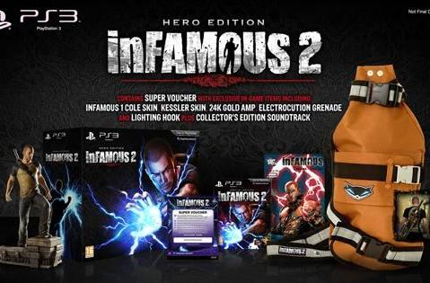 Infamous 2 hits Europe June 8, coming in so, so many bundles