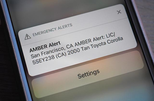 Everything you need to know about mobile Amber Alerts