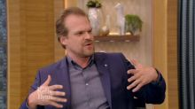 David Harbour isn't exactly getting in shape for 'Hellboy'